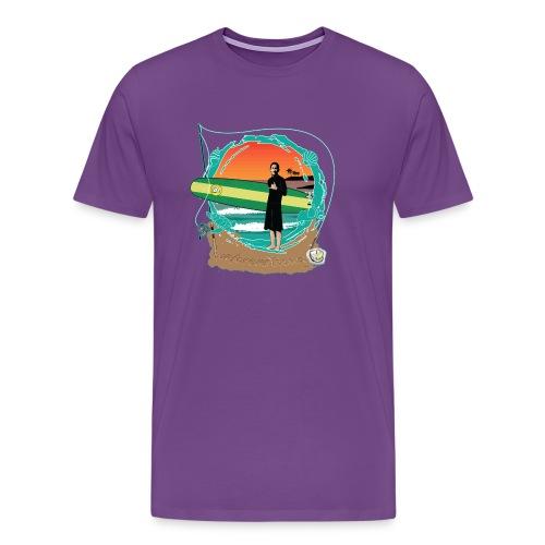 #foreverYoung White Tee - Men's Premium T-Shirt