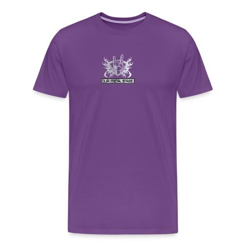 Our Metal Stage Logo - Men's Premium T-Shirt