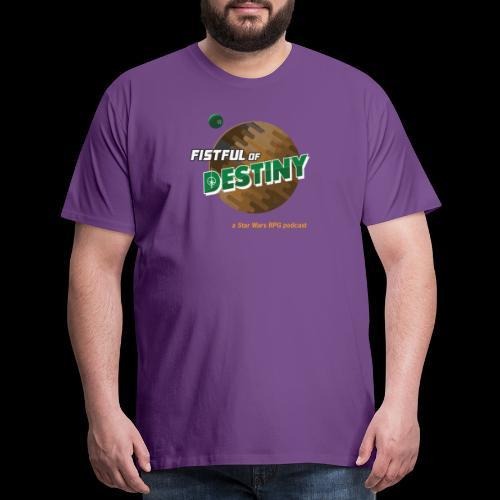 Fistful of Destiny Planets Design - Men's Premium T-Shirt