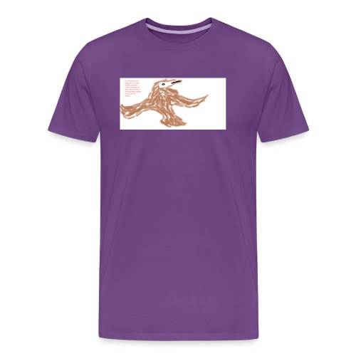 Soaring thru Prayer - Men's Premium T-Shirt