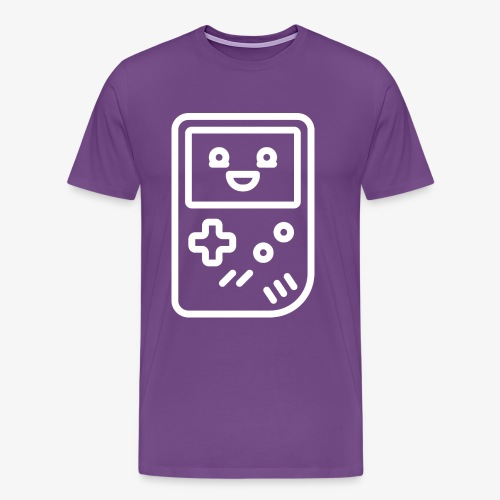 Smiling game console (white) - Men's Premium T-Shirt