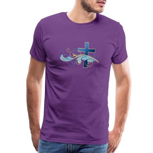 Blue cross - Men's Premium T-Shirt