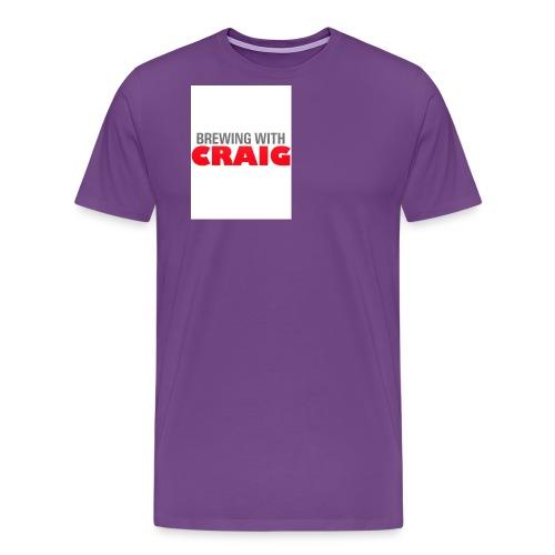 Brewing With Craig - Men's Premium T-Shirt