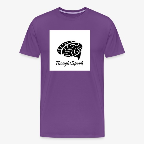 Newest, Simplest ThoughtSpark Logo - Men's Premium T-Shirt