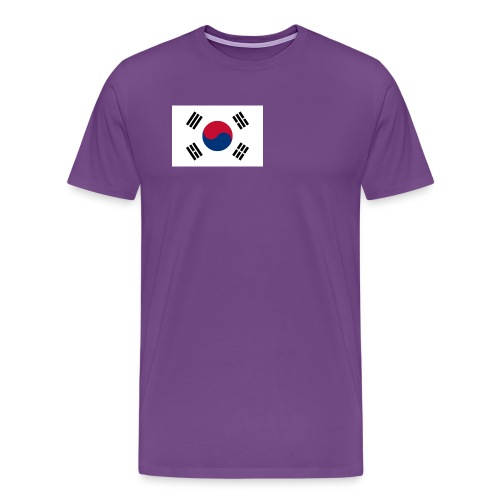 Flag of South Korea - Men's Premium T-Shirt