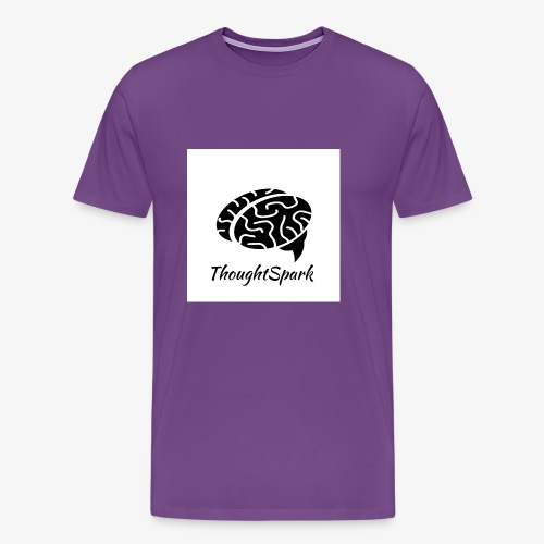 Newest, Simplest ThoughtSpark Logo - Men's Premium T-Shirt