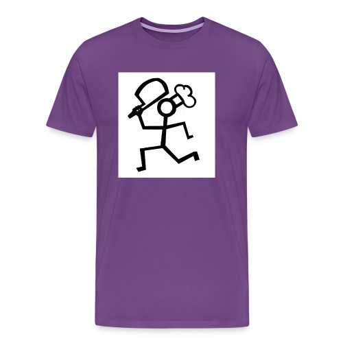 norman flims - Men's Premium T-Shirt