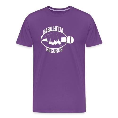 HARD_HITTA_LOGO_W - Men's Premium T-Shirt