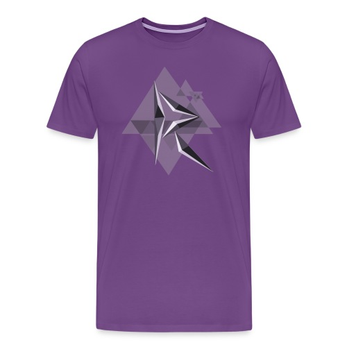 MRH Tri-Glitch - Men's Premium T-Shirt