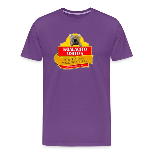 Koalacito Osito's White Tears Taco Tortillas - Men's Premium T-Shirt