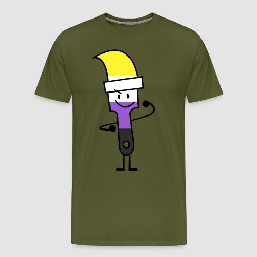 Paintbrush Pride - Men's Premium T-Shirt