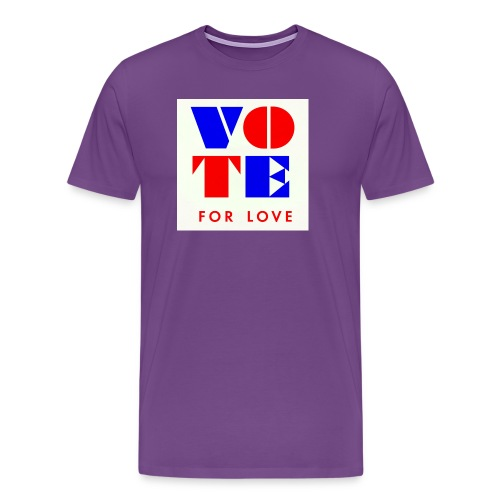 vote4love-sample - Men's Premium T-Shirt