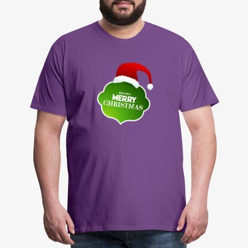 wish you a merry christimas - Men's Premium T-Shirt