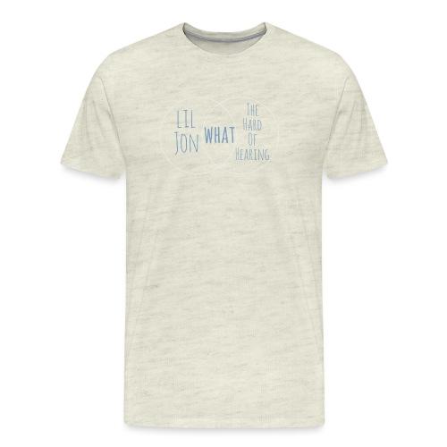 Venn Diagram: Lil Jon L - Men's Premium T-Shirt