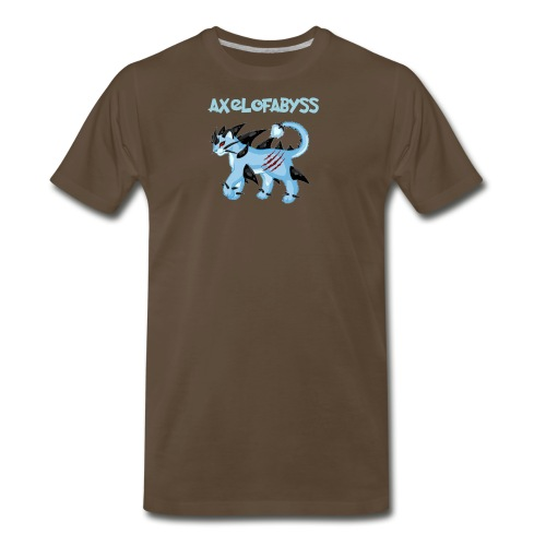 axelofabyss pocket monster - Men's Premium T-Shirt