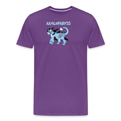 axelofabyss pocket monster - Men's Premium T-Shirt
