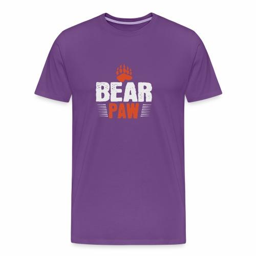 Bear paw - Men's Premium T-Shirt