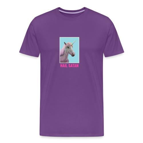 Satanic Unicorn - Men's Premium T-Shirt