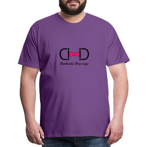 Darkside Dressage Logo - Black letters- Limited! - Men's Premium T-Shirt