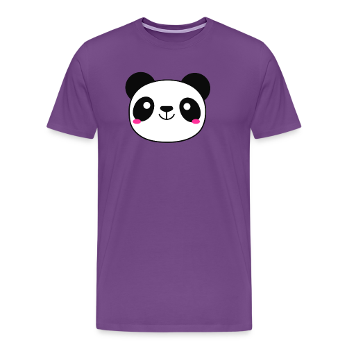 Panda Smiling Special Gift - Men's Premium T-Shirt
