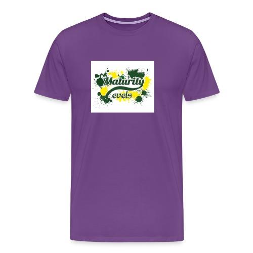 Maturity Levels Logo - Men's Premium T-Shirt