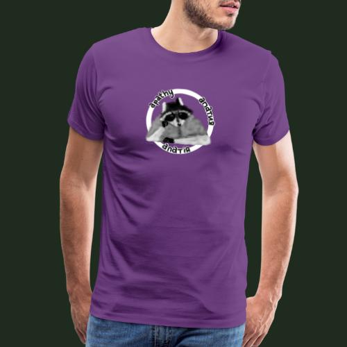 Apathy Raccoon - Men's Premium T-Shirt