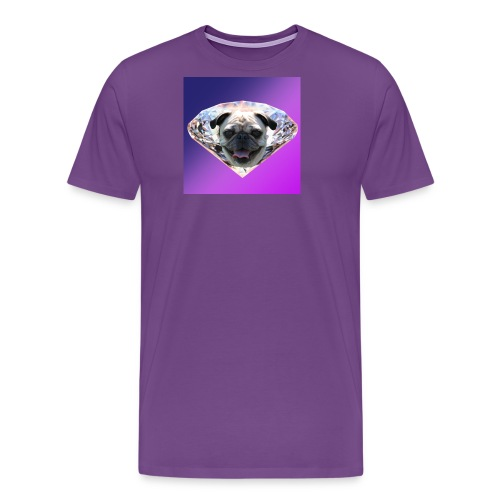 Diamond Pug - Men's Premium T-Shirt