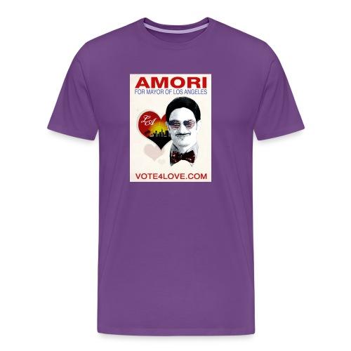 Amori for Mayor of Los Angeles eco friendly shirt - Men's Premium T-Shirt