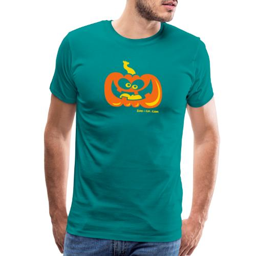 Smiling Pumpkin - Men's Premium T-Shirt