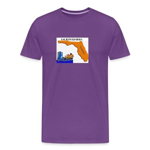 I Survived Irma - Men's Premium T-Shirt