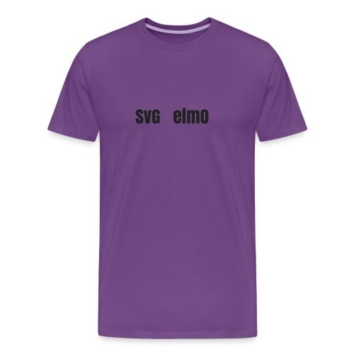 SvG_ElmO Design - Men's Premium T-Shirt
