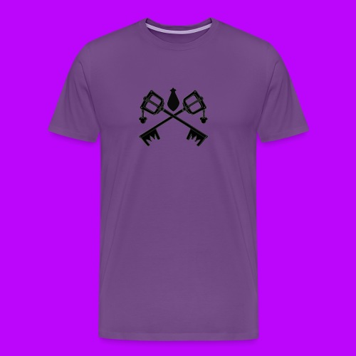 The Keyblades of Fate Inverted - Men's Premium T-Shirt