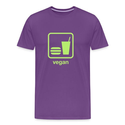 Vegan Food - Men's Premium T-Shirt