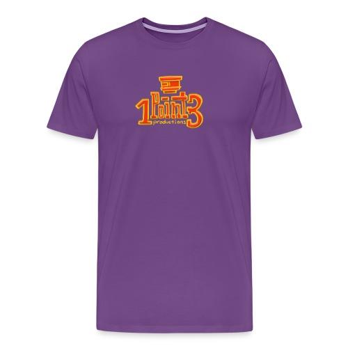 1Point3 Hand drawn - Men's Premium T-Shirt