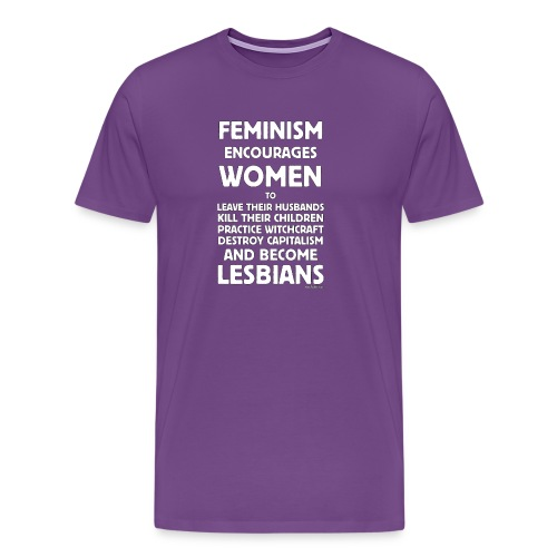feminism1 - Men's Premium T-Shirt