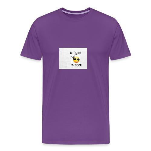 small be quiet - Men's Premium T-Shirt