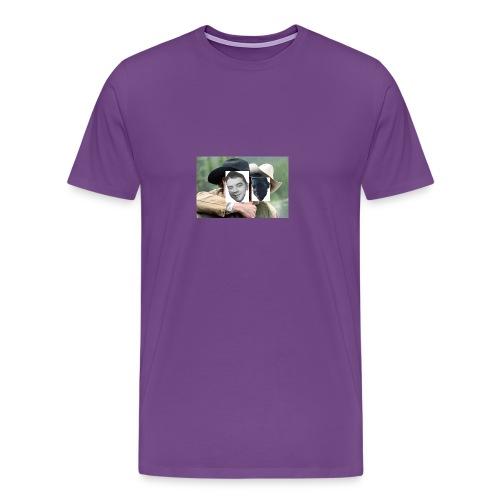 Darien and Curtis Camping Buddies - Men's Premium T-Shirt