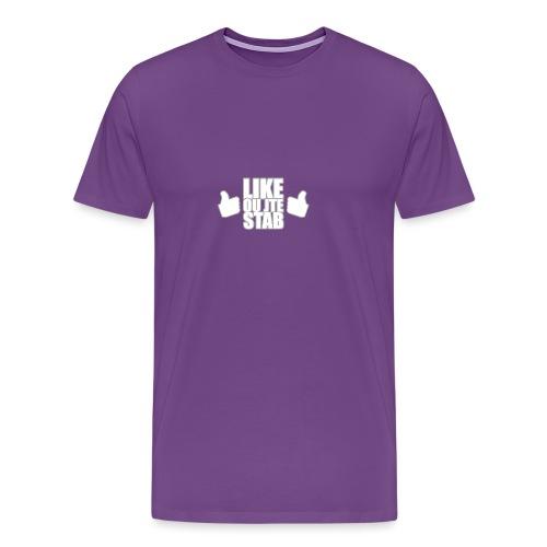 Like or jte stab - Men's Premium T-Shirt