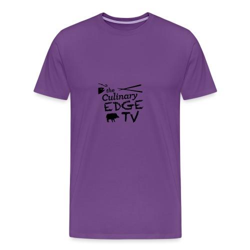 CETV Black Signature - Men's Premium T-Shirt