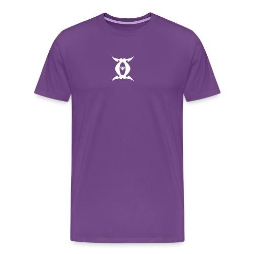Gemini Jay White Logo - Men's Premium T-Shirt