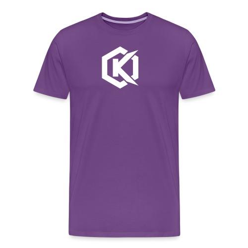 Logo de Kunsel sur Twitch et Ylutube - Men's Premium T-Shirt
