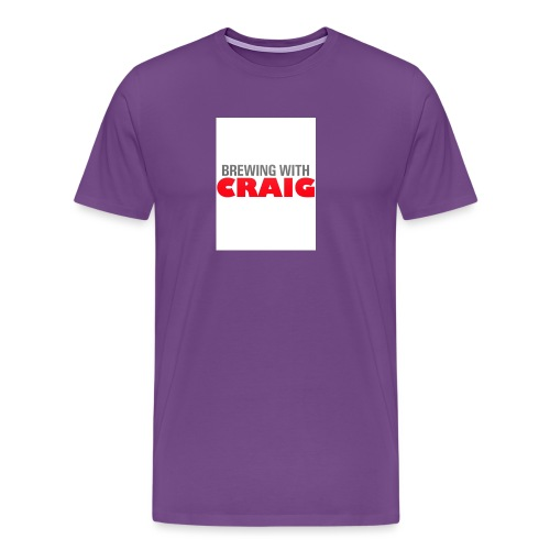 Brewing With Craig - Men's Premium T-Shirt