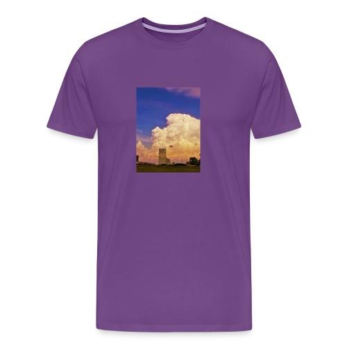 stormy elevator - Men's Premium T-Shirt