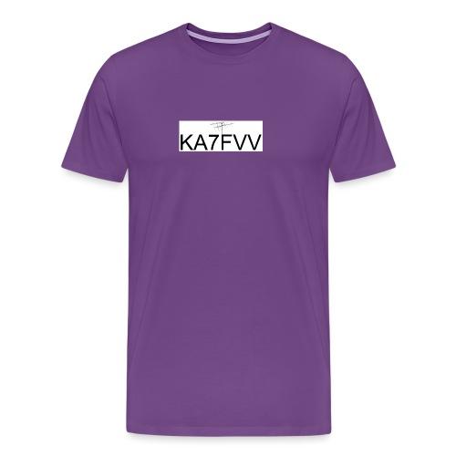 Call with Sat Antenna - Men's Premium T-Shirt