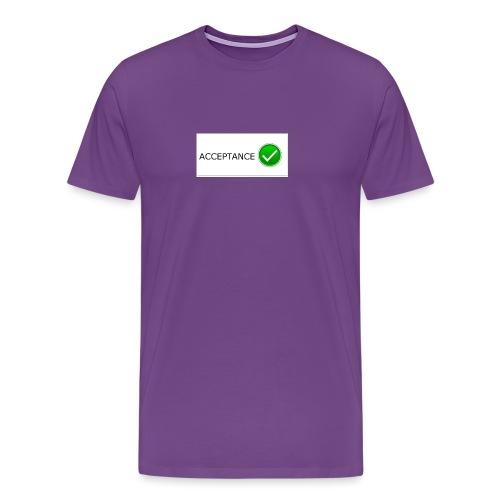 accpetnace_logo - Men's Premium T-Shirt