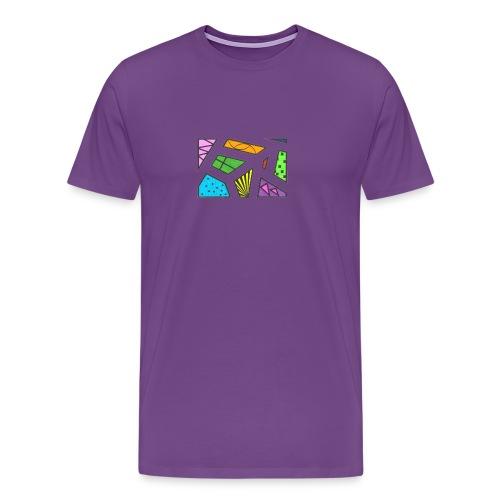 geometric artwork 1 - Men's Premium T-Shirt