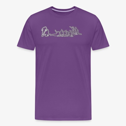Safe or Out White - Men's Premium T-Shirt
