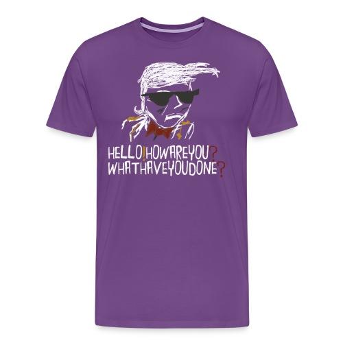 MISTER HELLO Shirt2 png - Men's Premium T-Shirt