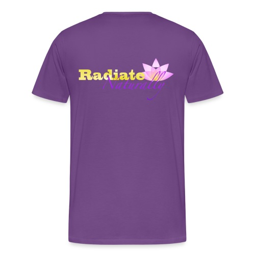 Radiate2 png - Men's Premium T-Shirt