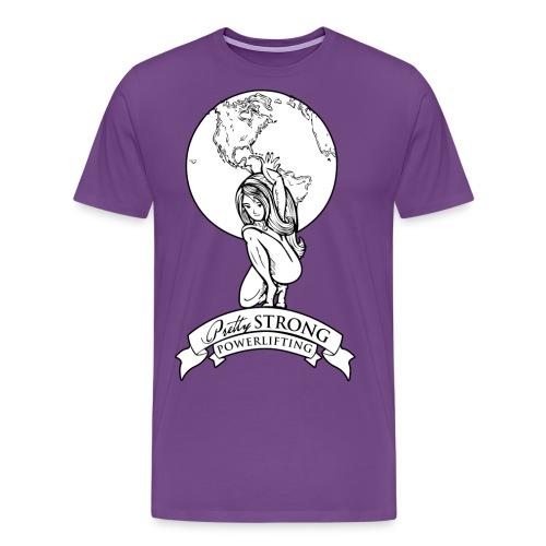 Globe 2 png - Men's Premium T-Shirt